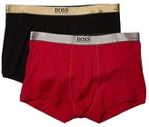 HUGO BOSS 2-Pack Trunks Gift Box (Black/Red) Men's Underwear
