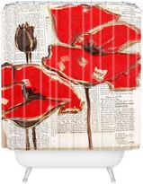 Bed Bath & Beyond Irena Orlov Red Perfection Shower Curtain