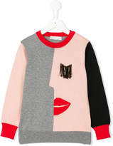 Stella McCartney Lucky Profile knitted sweater