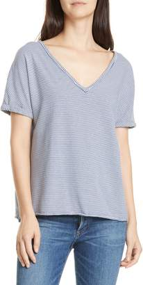 Frank And Eileen Dolman Sleeve Deep V-Neck Tee