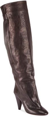 Isabel Marant Lacine 90mm Leather Knee Boots
