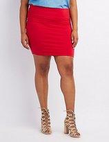 Charlotte Russe Plus Size Bodycon Mini Skirt