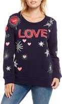 Chaser Love Patchwork Sweatshirt
