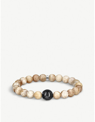 Thomas Sabo Jasper and obsidian beaded bracelet