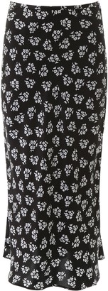 Rixo Floral-printed Kelly Skirt