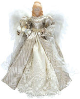 Asstd National Brand 16 Silver Elegant Angel Tree Topper