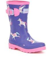Joules Girls' Welly Waterproof Rainboots