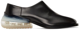 Maison Margiela Black Airbag Tabi Loafers