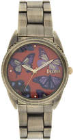 JCPenney Decree Womens Graphic Dial Bracelet Watch
