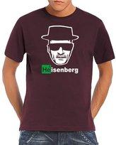 Walter Touchlines Men's T-Shirt Heisenberg White Logo Size: