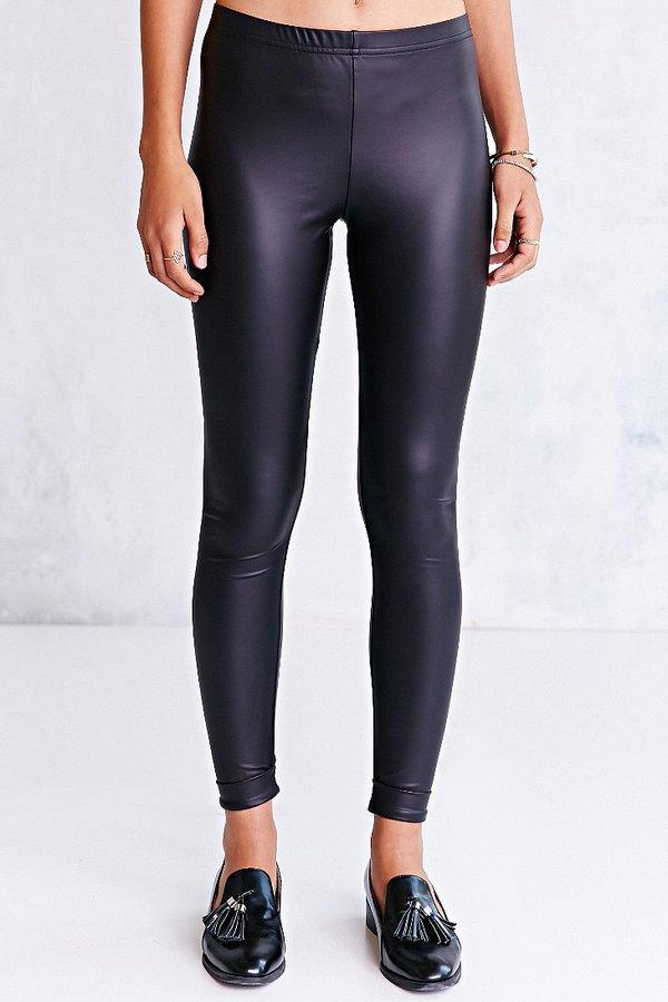 BDG Cuffed Vegan Leather Legging
