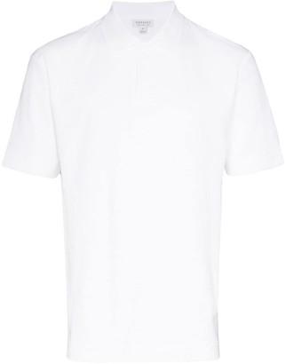 Sunspel Terry cotton polo shirt