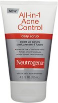 Neutrogena All-in-1 Acne Control Daily Scrub - 4.2 oz