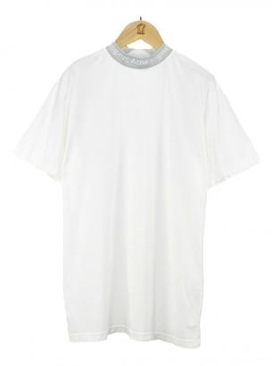 Acne Studios White Cotton T-shirts