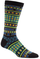 Ozone Men's Moroccan Stars Crew Socks (2 Pairs)