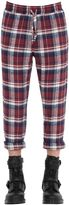 Faith Connexion Comfort Fit Plaid Cotton Flannel Pants