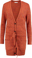 See by Chloe Mélange chunky-knit wool-blend cardigan