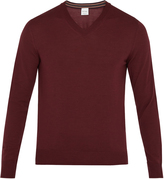 Paul Smith V-neck fine-knit wool sweater