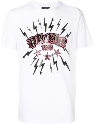 Philipp Plein lightning bolt T-shirt