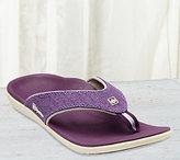 Spenco Canvas Thong Sandals - Yumi Canvas