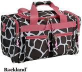 Rockland Bel-Air Giraffe/Pink 19-inch Carry-On Tote / Duffel Bag