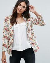 Unique 21 Floral Tailored Blazer