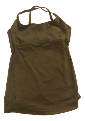 Lululemon Green Synthetic Tops