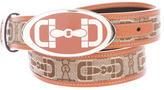 Gucci Horsebit Print Belt