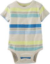 Osh Kosh Oshkosh Short-Sleeve Striped Bodysuit - Baby Boys newborn-24m
