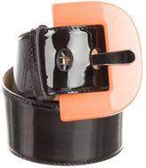 Sonia Rykiel Patent Leather Waist Belt