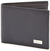 Royce Leather RFID Blocking Saffiano Bifold Wallet