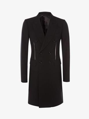Alexander McQueen Slashed Dart Detail Coat