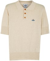 Vivienne Westwood Biscuit Fine-knit Cotton Polo Shirt