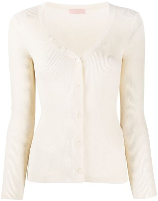 Drome Long Sleeve Scoop Neck Cardigan
