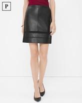 White House Black Market Mixed Texture Skirt