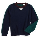 Burberry Toddler Boy's Mini Geoff Cashmere Sweater