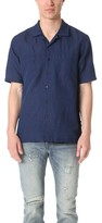 Levi's Indigo Short Sleeve Shirt