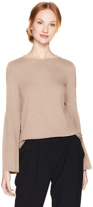 Calvin Klein Women's Bell Sleeve Top