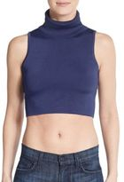 C/Meo Sober Thought Turtleneck Crop Top