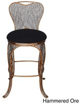 Varaluz Recycled Flow Bar Stool with Back