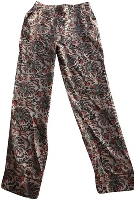soeur Pink Synthetic Trousers