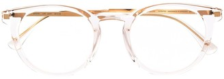Mykita Clear Round-Frame Glasses