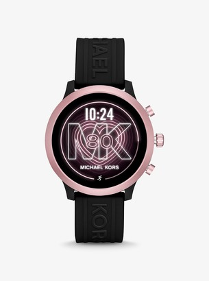 Michael Kors MKGO Pink-Tone and Silicone Smartwatch