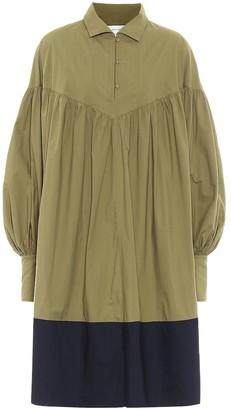 Lee Mathews Elsie cotton-poplin dress