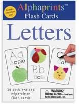 Macmillan Alphaprints Wipe Clean Flash Cards Letters