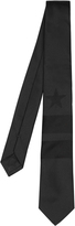 Givenchy Star and stripes-jacquard silk tie