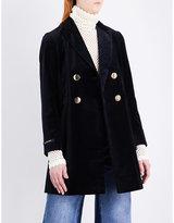Mo&Co. Velvet blazer