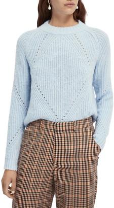 Scotch & Soda Fuzzy Shaker Stitch Sweater