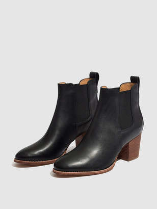Madewell Regan Leather Booties