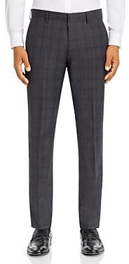 BOSS Plaid Slim Fit Suit Pants